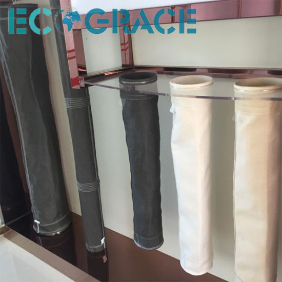 High Heat Resistant Industrial Cement / Power Plant Applied Fiberglass  Filtration with PTFE Coating