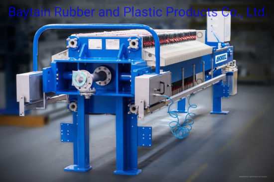Automatic Hydraulic Chamber Filter Press Sludge Dewatering Filter Press Machine