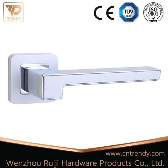 China Zamak Zinc Lock Lever Door Handle/Furniture Hardware Handle ...