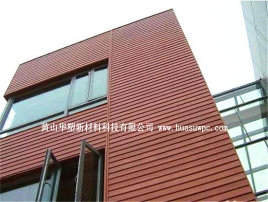 Outdoor Weather-Proof Wood Plastic Composite Wall Cladding pictures & photos