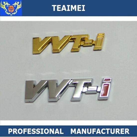 Custom ABS Chrome Letter Nameplate Car Emblem Badges