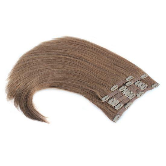 China Sally Beauty Bellami Hair Top Grade European Remy Hair Pu Seamless Clip In Hair Extensions China Clip In Human Hair Extension And Clip On Hair Price