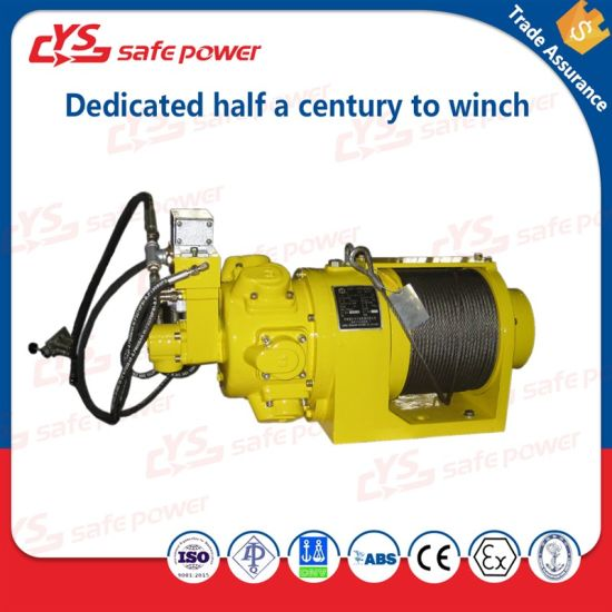 China piston air motor capstan air winch for for Piston type air motor