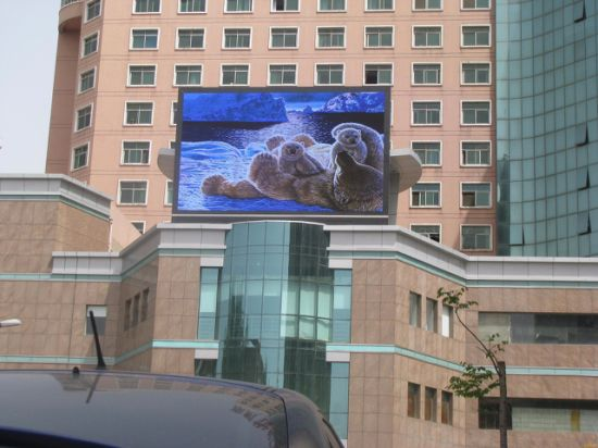 Electronic Full Color Outdoor LED Display Screen Advertising Board pictures & photos