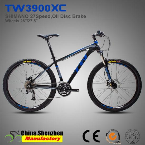 26er 27.5er Aluminum Mountain Bike with Shimano M370 27speed