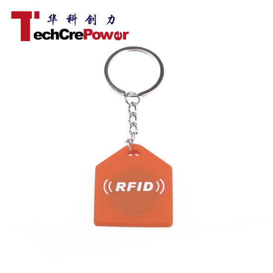 Y002 RFID Silicone Tag Em4100 Chip Waterproof RFID Key Tag pictures & photos