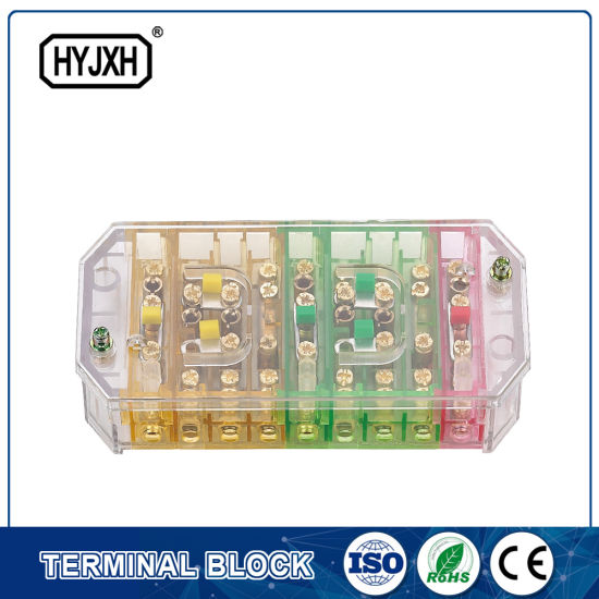 China Three Phase Three Wire Power Controller Test Terminal Block ...