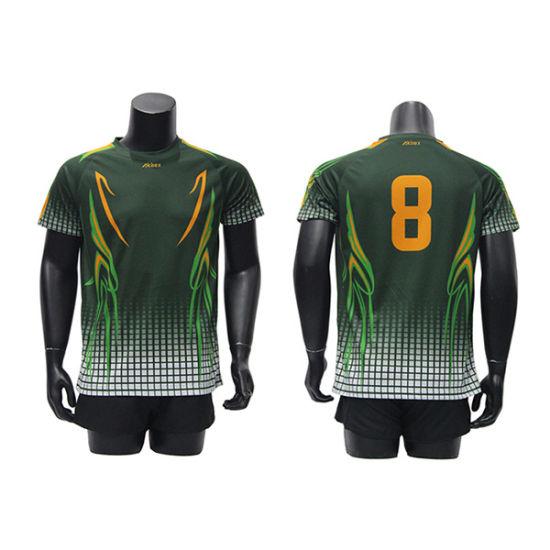 Latest Design Sports Gear Customize Dye Sublimation Junior Soccer Jersey  Sets ecdd7afd1
