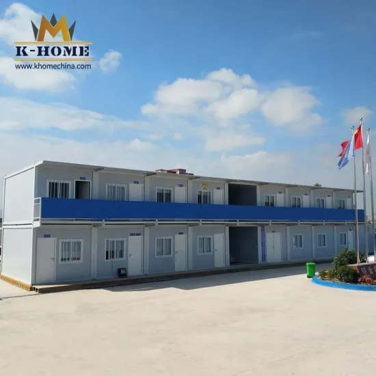 Prefabricated Container House for Mine Camp Dormitory