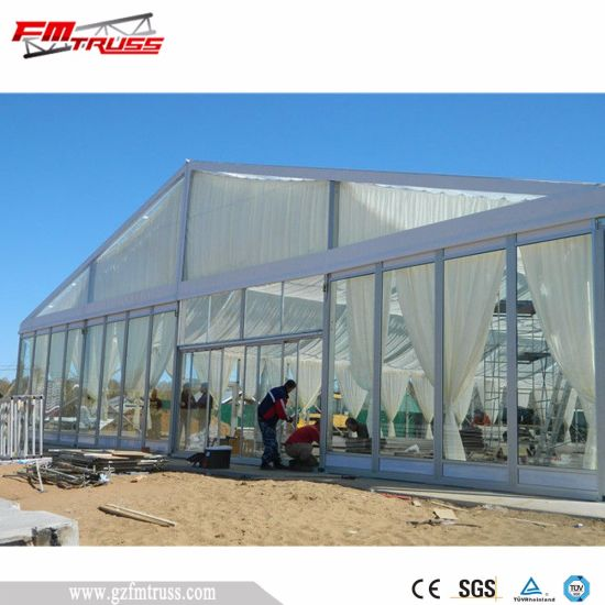 Luxrury Clear Fabric Transparent Tent for Sales pictures & photos
