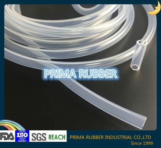 Silicone Rubber Pipe, Rubber Tube, Slicone Hose with FDA, ISO9001