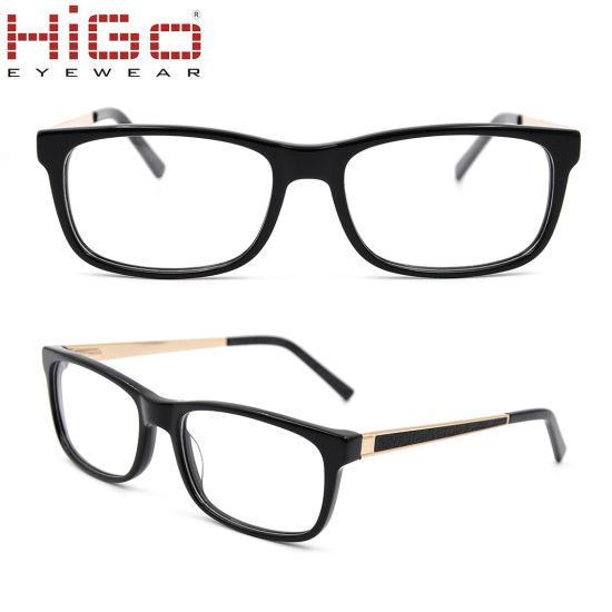 b91013cd529 China Wholesale New Design Eyewear Square-Frame Acetate Optical Glasses
