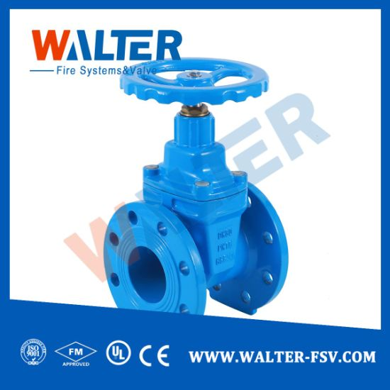 Resilient Seated Non-Rising Stem Gate Valve pictures & photos