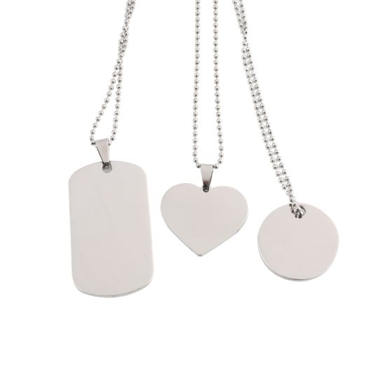 Wholesale Cheap Custom Promotional Metal Dog Tag with Chain