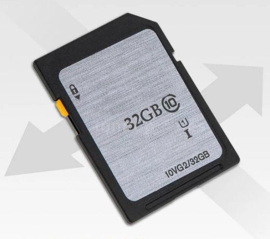 Custom Label 16GB 32 GB Cid SD Card Car Navigation Memory Card for Mercedes  Benz