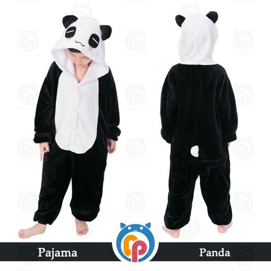 89ab46e257af China Hot Sale Kids Pajamas Panda Sleeping Wear - China Sleeping ...