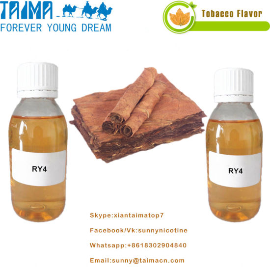 Wholesale Bulk E Liquid Concentrate Ry4 Flavor E-Juice pictures & photos