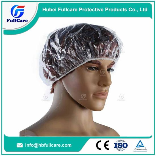 83651d526c1c China LDPE HDPE Customized Plastic PE Hotel Disposable Shower Cap ...