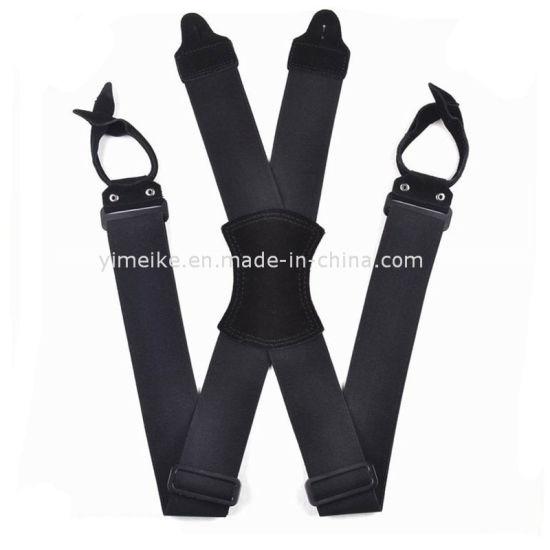 China Manufacturer Men Customized Heavy Duty X Suspender