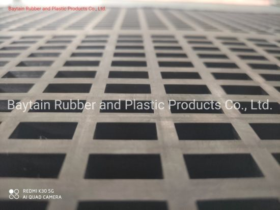 Wear Resistant and Corrosion Resistant Vibrating Rubber Screening Plate with High Quality