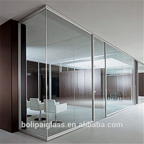 6mm 8mm 10mm 12mm Clear Tempered Glass for Door Design Price