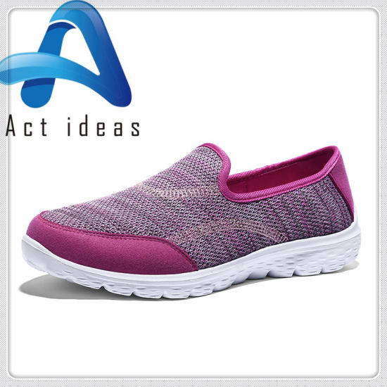 e8c0a7c7060b 2018 Fashion Ladies Shoes Women Breathable Lace up Running Sport Shoe