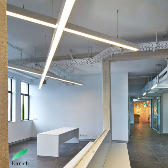 Commercial Led Office Lighting: China Indoor Hanging Light Commercial LED Linear Pendant
