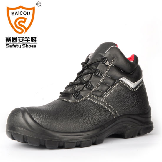 Fashion Boot Manufacturers Genuine Leather Shoes Double Safety Safety Shoes pictures & photos