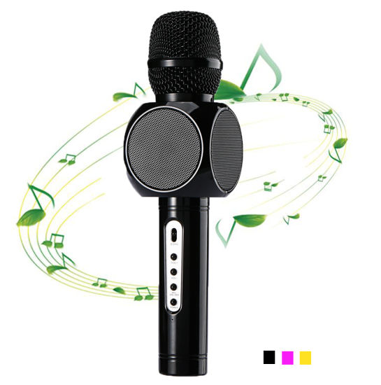Handheld Wireless Blue Tooth Karaoke Microphone E103 for Singing and Entertainment