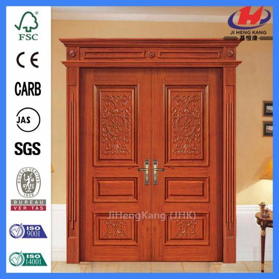 China Interior Doors Home Hardware Indian Wood Carving Doors China