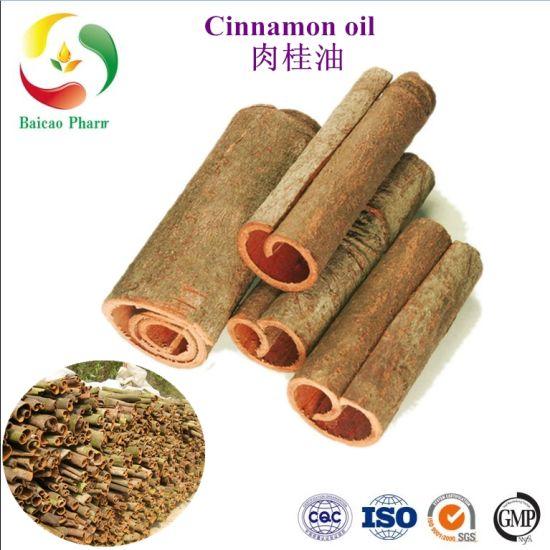 CAS No. 8007-80-5 Cinnamon Oil/Cassia Oil Pure Cinnamon Leaf Animal Feed Material Fragrance Oil Food Flavour Base Oil Essential Oil