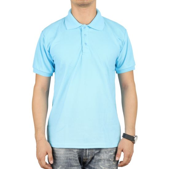 Good Price Good Quality CVC 200GSM Promotional Men Polo Shirt