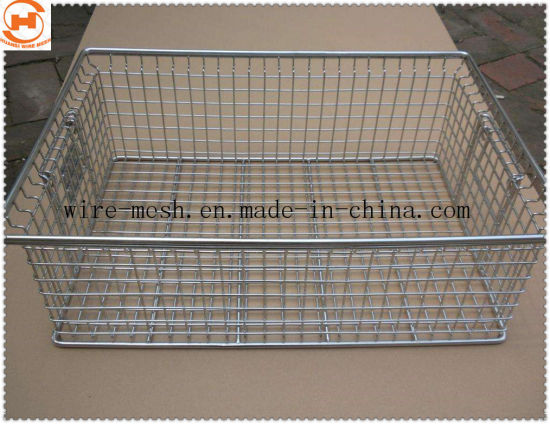 Stainless Steel Wire Mesh Basket for Food Basket/ Kitchen Basket