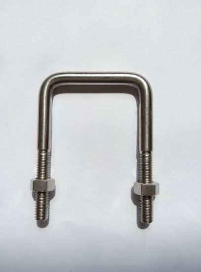 Stainless Steel SS304 SS316 SS316L Assembled Hex Bolt with Nut U Bolt Stud Bolt pictures & photos