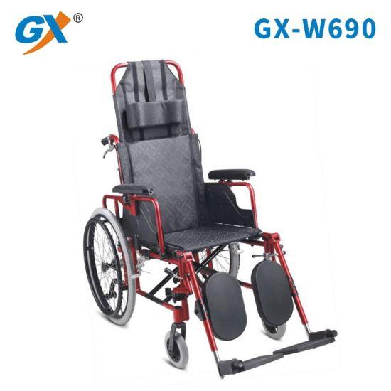 Alumium Reclining Foldable Lightweight Wheelchair