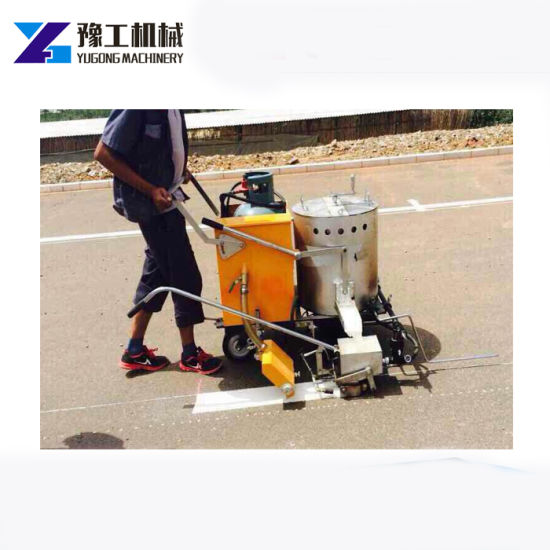 Hot Melt Road Paint Sprayer Road Line Marking Machine Price for Convex  Traffic Line