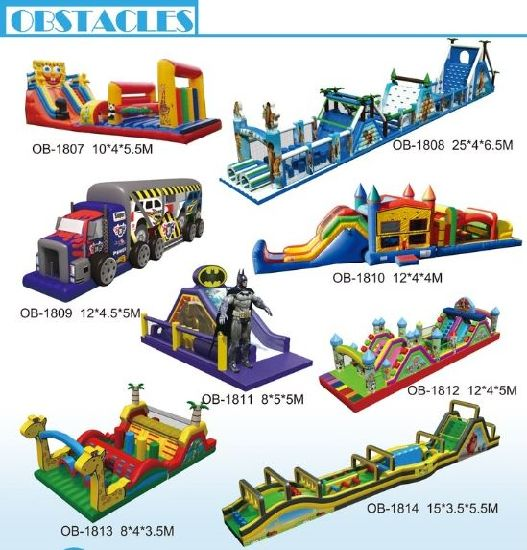 Inflatable Obstacle Course 5K Adult Floating Obstacle Course for Sale pictures & photos