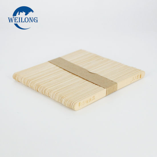 Disposable Birch Wood Ice Cream Stick