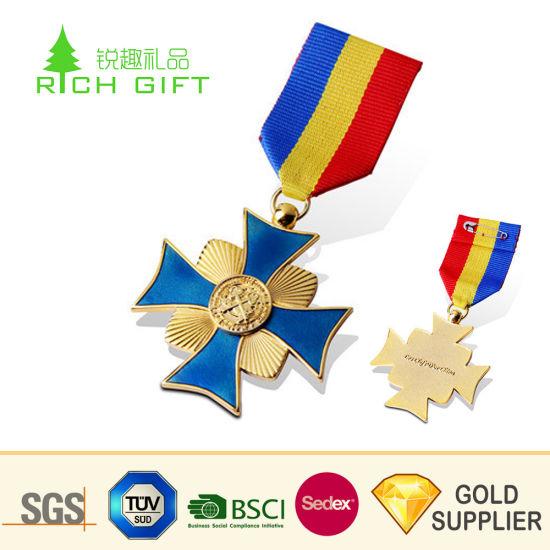 China Pretty Decorative Personalized Custom Metal Gold
