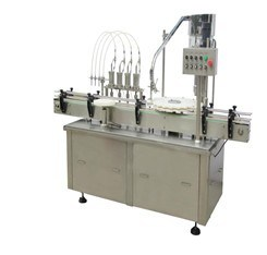 China Automatic Beverage Liquid Filling Machine and Capping Machine