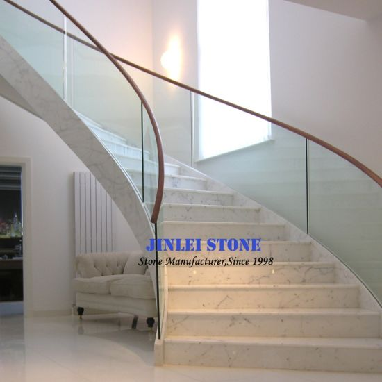 Marble/Granite/Travertine/Limestone Stone Stair/Steps & Risers for Floor/Upstair Interior/Outterior pictures & photos