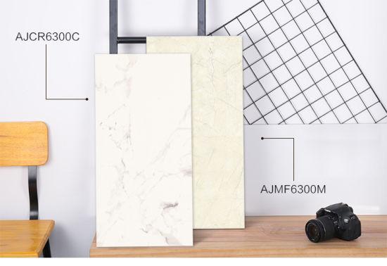 250X400 White Polished Ceramic Tiles for Bathroom (CR6300)