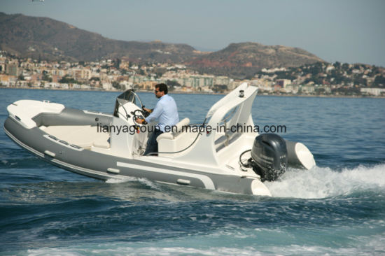 Liya 19FT Hypalon Inflatable Fishing Boat Luxury Rib Boat 580