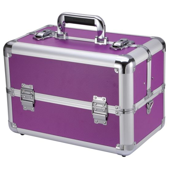 Barber Aluminum Carry Stethoscope Makeup Travel Carrying Case For Tv