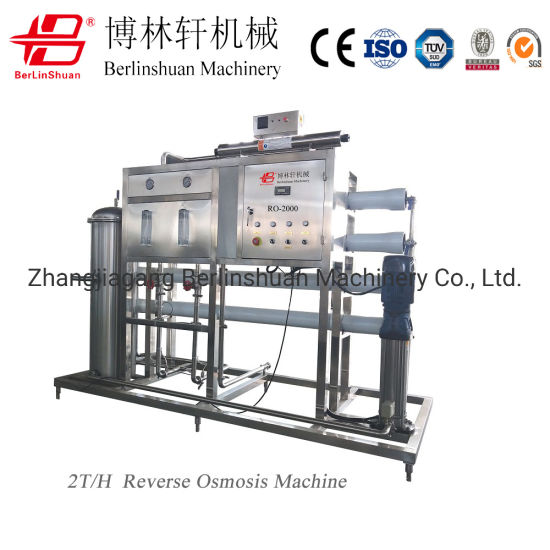 Automatic Purifier Cleaning System Complete RO Water Purifier Production Machine Bottle Mineral Pure Drinking Water Reverse Osmosis Water Treatment Filter
