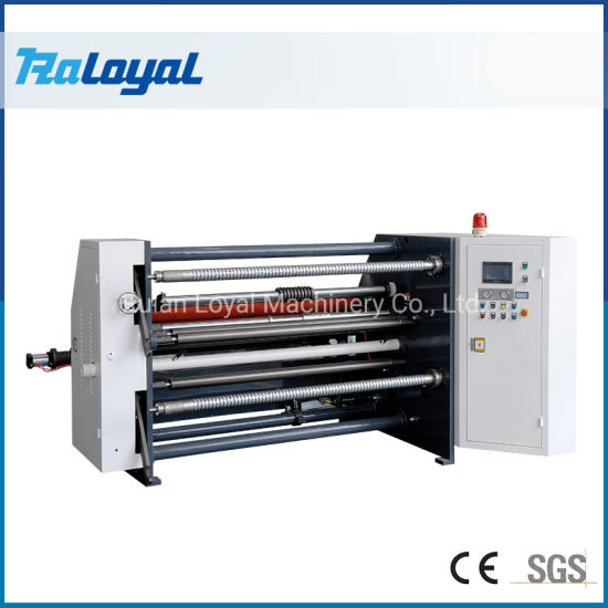 High Precision Coated Paper Label Laminated Material Slitting and Rewinding Machine