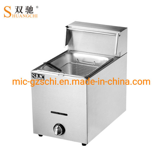 Gas Fryer Making Machine Potato Chips Fryer pictures & photos