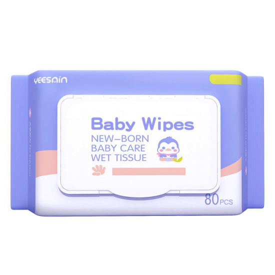 100% Biodegradable Flushable Disposable Hand Clean Organic Bamboo Single Water Cotton Baby Wet Wipe Manufacturer