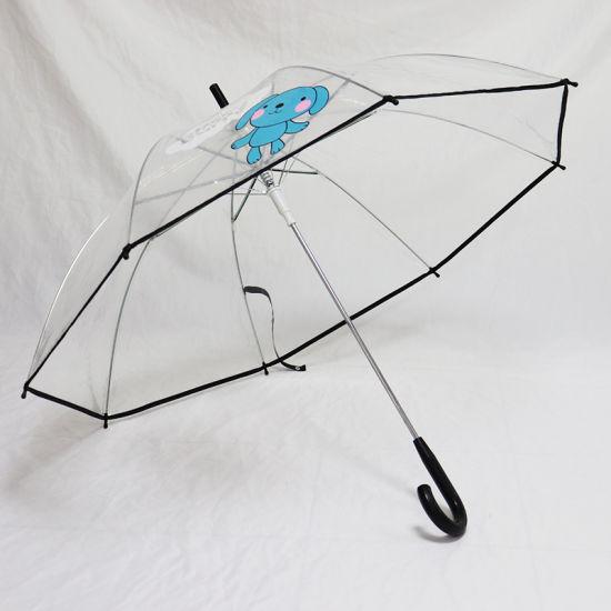 Transparent Umbrella Cartoon Design Customized (YZ-19-80)