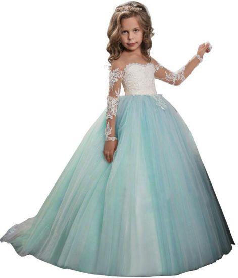 China Lace Junior Bridesmaid Gowns Pearls Tulle Flower Girl Dress Z1051 China Flower Girl Dress And Junior Bridesmaid Gown Price,Camo Wedding Dress Orange